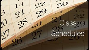 Dacne Class Schedules
